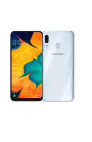 Смартфон Samsung Galaxy A30 32GB белый РСТ