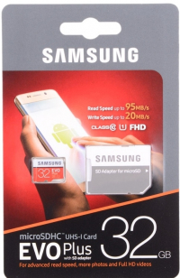 Карта памяти Samsung 32Gb 10 Class