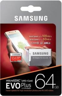 Карта памяти Samsung 64Gb 10 Class