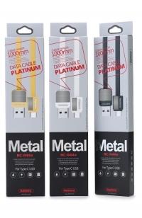 Кабель Remax Metal RC-044 в ассортименте