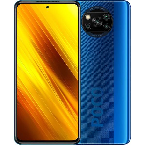 Смартфон Xiaomi Poco X3 NFC 6 128Gb EU Cobalt Blue